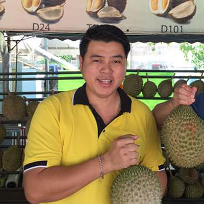 Best durian in town!